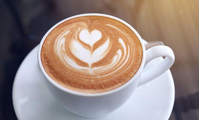 Milchschaum Kaffee