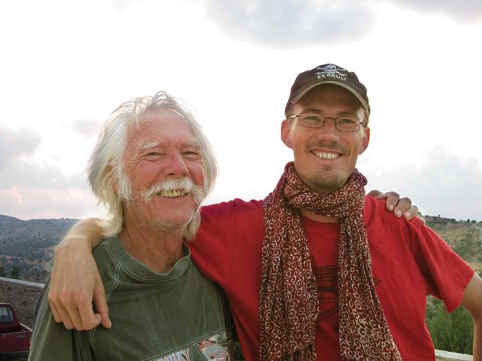 Der Inhaber Marten Riedl und sein Vater Adolf