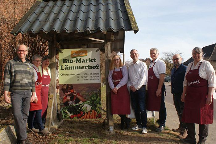 Lämmerhof Bioladen in Mannhagen