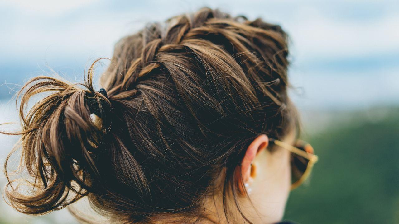 geflochtene Haare