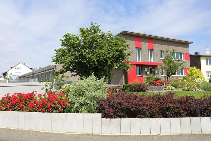Gebäude der Druckerei Lokay