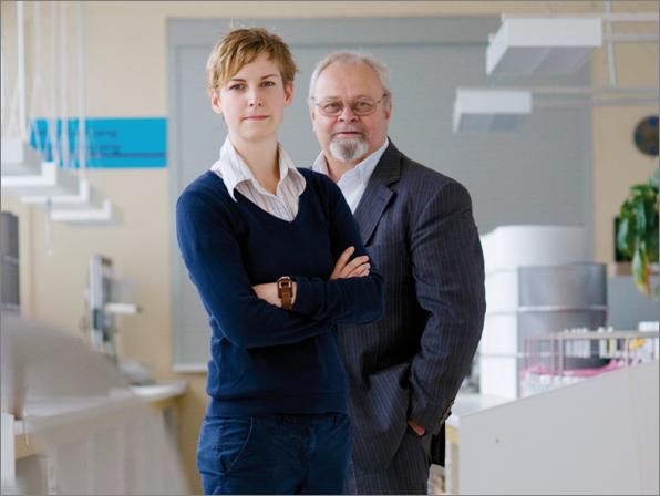 Natalie und Siegfried Kühn von der SK Elektronik GmbH Geschäftsführung