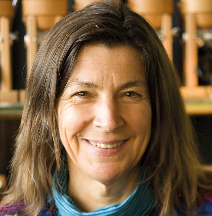 Die heutige Geschäftsführerin Monika Blanz