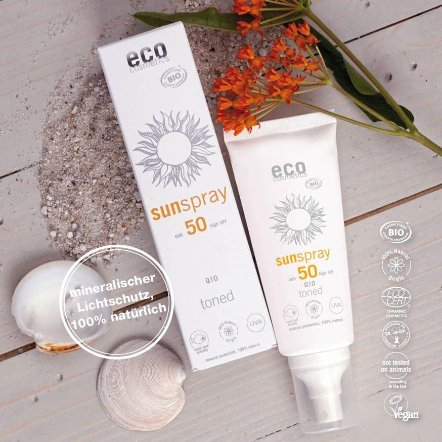Sonnenspray von eco cosmetics