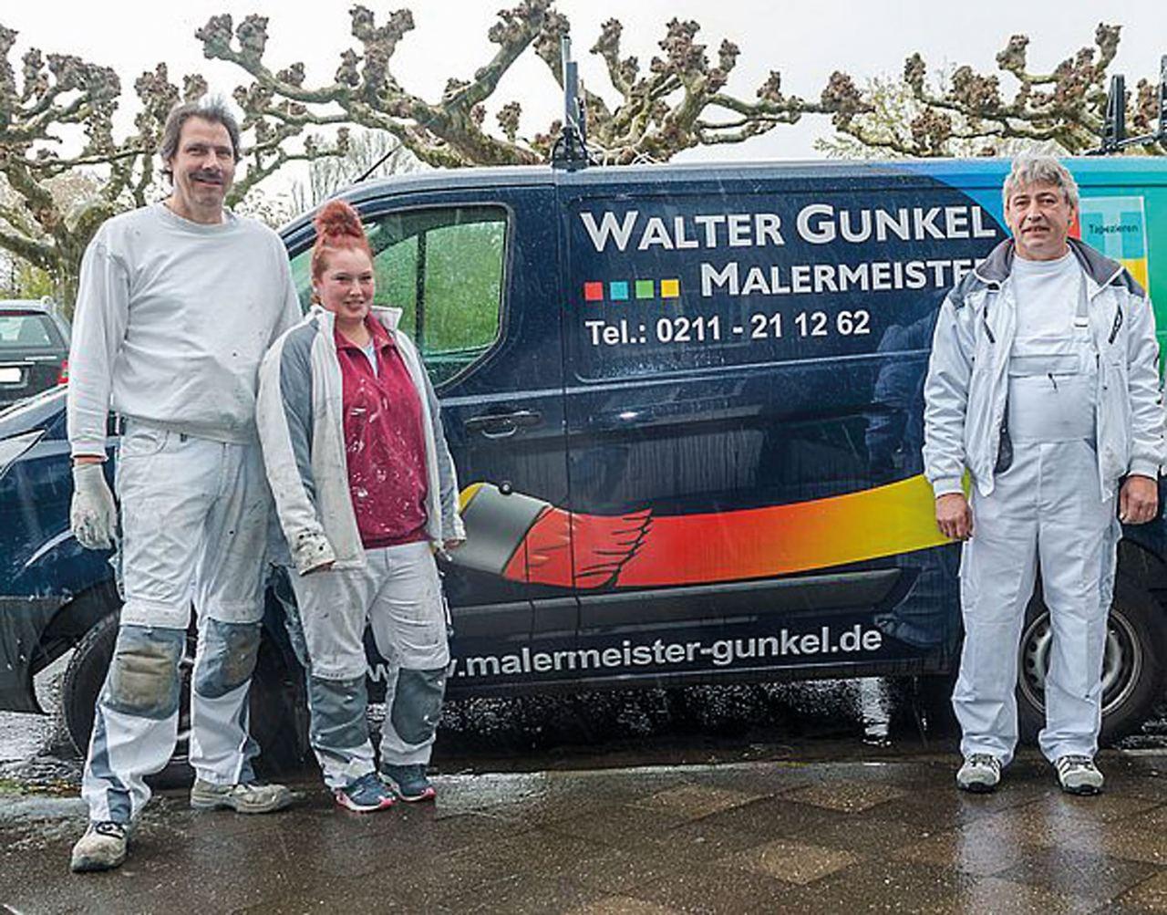 Malerteam der Firma W. Gunkel