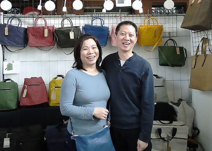 Thuy Nguyen und Ehemann von Colibrie