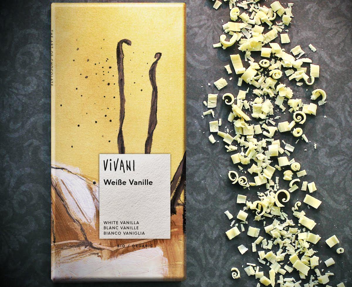 Weiße Vanille Schokolade von Vivani