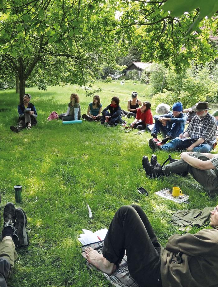 Wildniswissen - Wildnispädagogik undSeminare mitten in der Natur