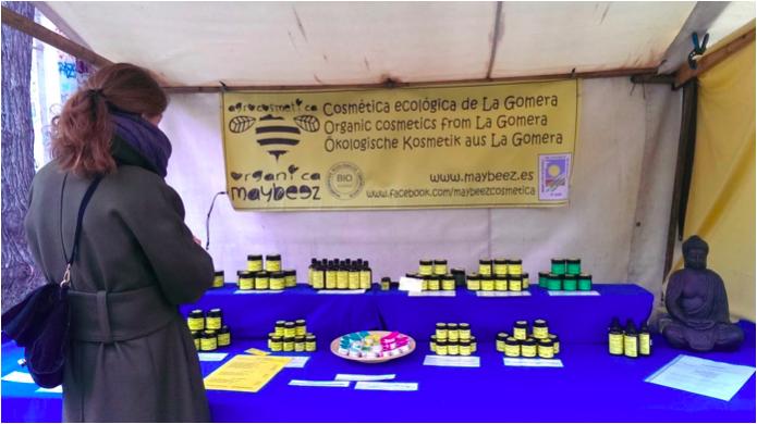 Naturkosmetik von maybeez aus La Gomera