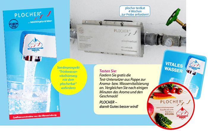 Wasservitalisierung nach Plocher