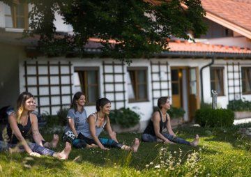 Yoga Ressort im Chiemgau